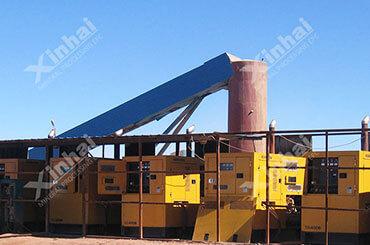 مصنع تعدين خام الذهب 1000 طن/يوم في جمهورية منغوليا