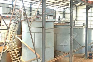 مصنع استخلاص خام الذهب 150طن/يوم في جمهورية تانزانيا الاتحادية