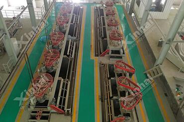 مصنع استخلاص خام النحاس 1500 طن/يوم في جمهورية باكستان الاسلامية