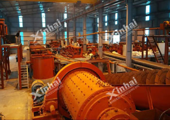 Vietnam Kra 800tpd Graphite Ore Dressing Plant Project