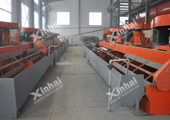 Yantai 330000t/a Molybdenum Tungsten Ore Dressing Project
