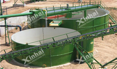 Hydraulic Motor Driving Center Thickener