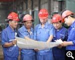 خبراء شينخاي في مصنع الإنتاج