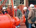 العملاء تفتيش معدات الإنتاج شينخاي