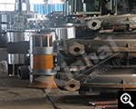 المنتجات شبه المصنعة في مصنع لإنتاج