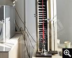جهاز اختبار التوتر المطاط