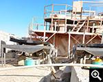 العملية العامة شين هاي السودان خارج مخلفات مركزات منجم للذهب