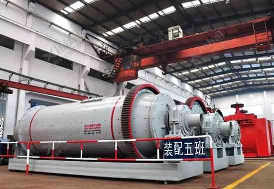 ورشة إنتاج المعدات في شين هاي
