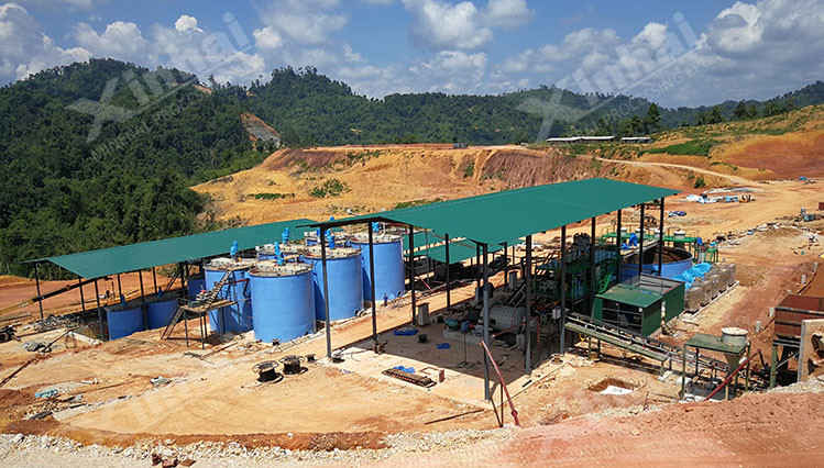 gold processing line