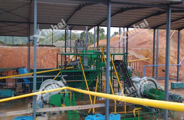 مشروع معالجة منجم الذهب في ماليزيا 700طن/يوم