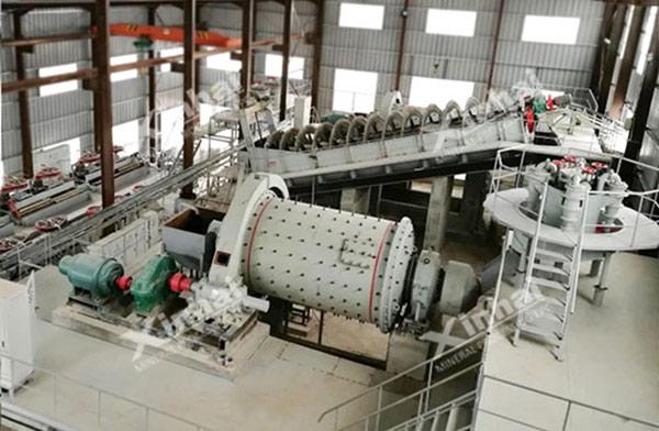 مشروع معالجة خام الفضة في المغرب 800طن/يوم