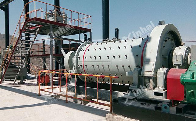 عملية استخراج الفلسبار