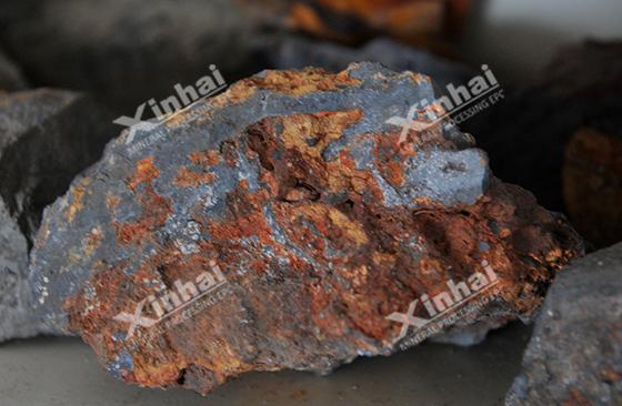 استخلاص الحديد من عملية الفصل المركب بالليمونيت